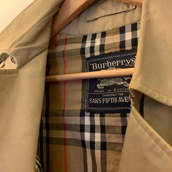 Vintage Burberry trench coat!